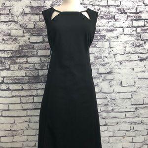 INC Sexy Little Black Dress Cutout Aline
